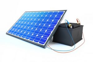 solar and battery